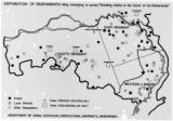 Distribution of respondents - Map belonging to survey 'Dancing-habits in the South of the...